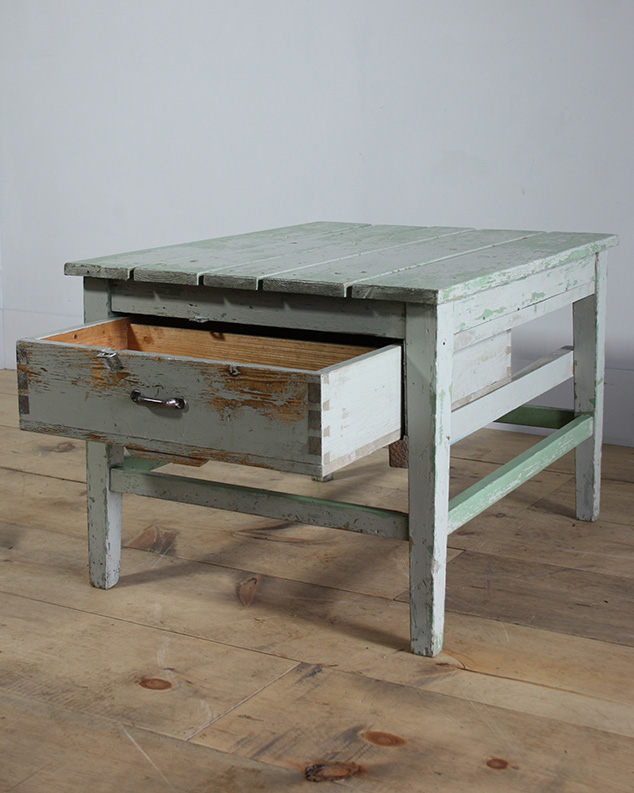 polish Industrial Work Table