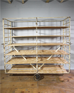 Huge Bakery Rack on Wheels