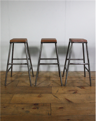 New  High Metal Bar Stools.