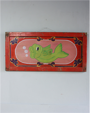 circus goldfish sign