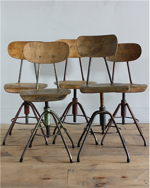 round backed machinist stools