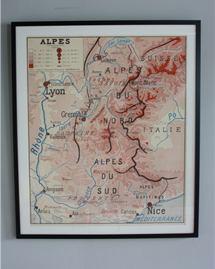 alpes Map x