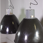Industrial Czech Pendant Lights