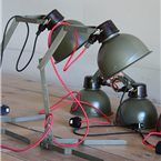 czech army table lights