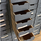 Grey Multi Drawer Units