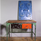 Orange Drawer Workbench / Table
