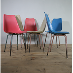 czech moulded chairs